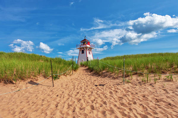Wall Art - Photograph - Covehead Harbour Lighthouse by Eunice Gibb