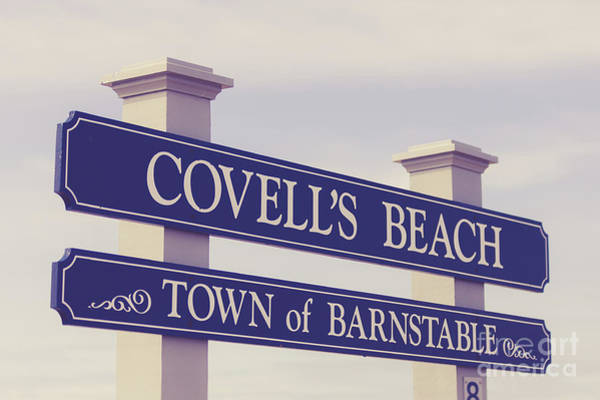 Photograph - Covellls Beach Town Of Barnstable by Edward Fielding