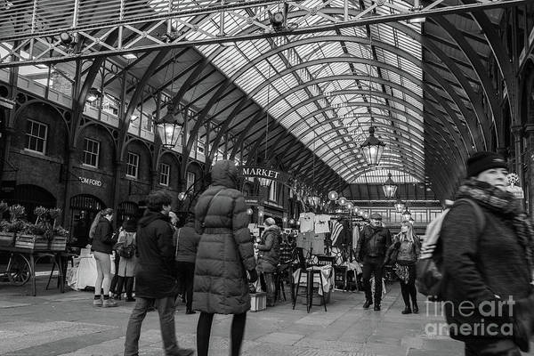 Photograph - Covent Garden by Nigel Dudson