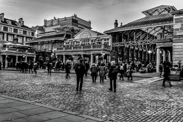 Photograph - Covent Garden Street Photography by Nigel Dudson