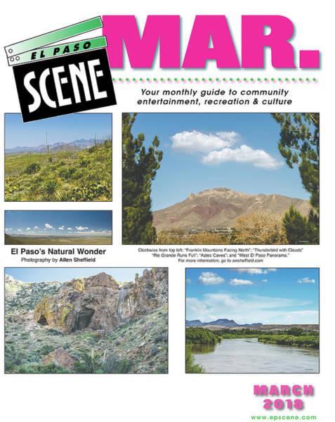 Tabloids Photograph - Cover Of El Paso Scene by Allen Sheffield
