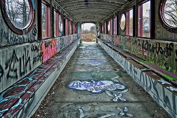 Wall Art - Photograph - Covered Bridge - Belle Isle by Winnie Chrzanowski