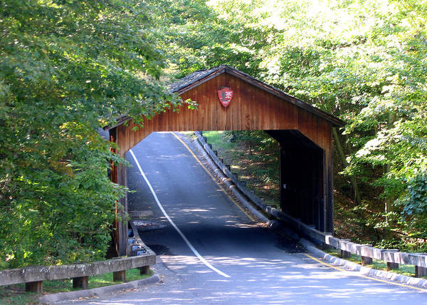 Photograph - Covered Bridge by Laura Kinker