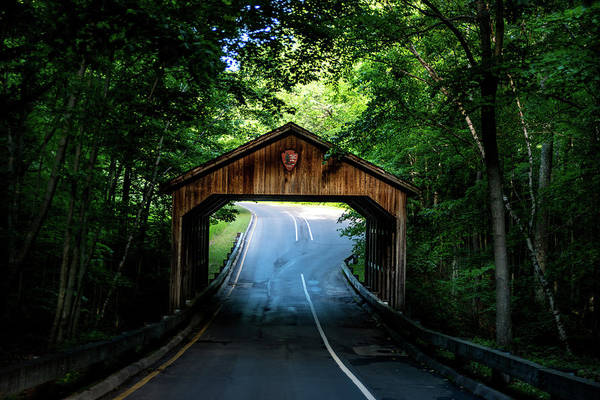 Photograph - Covered Bridge by Onyonet  Photo Studios