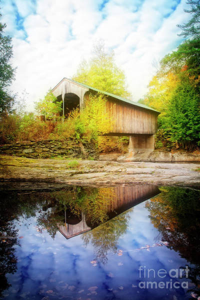 Photograph - Covered Bridge by Scott Kemper