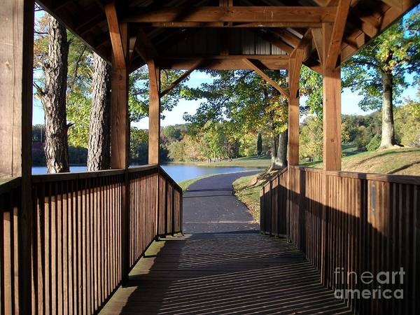 Photograph - Covered Path by Tammie J Jordan