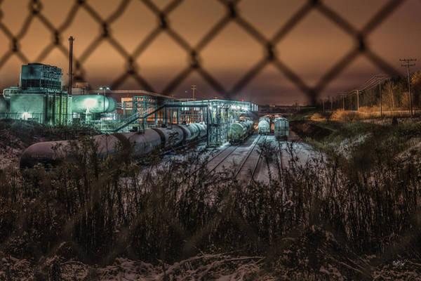 Depot Photograph - Covert Danger by Everet Regal