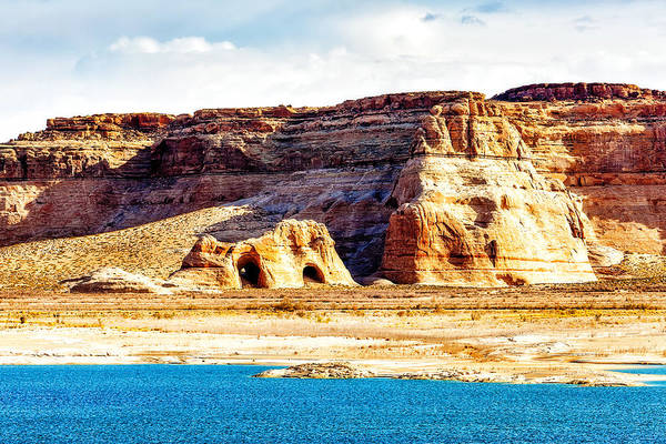 Wall Art - Photograph - Coves On Shore Of Lake Powell by Susan Schmitz