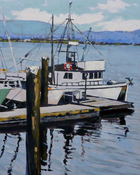 Painting - Cow Bay by Rob Owen