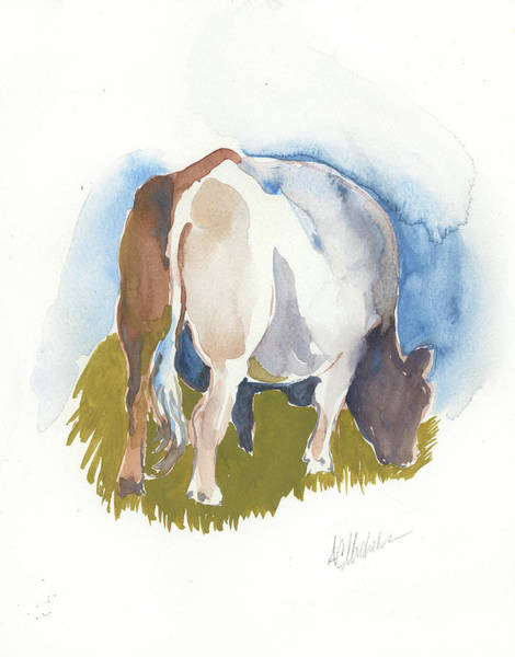 Painting - Cow I by Christie Martin