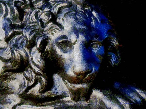 Painting - Cowardly Lion by RC DeWinter