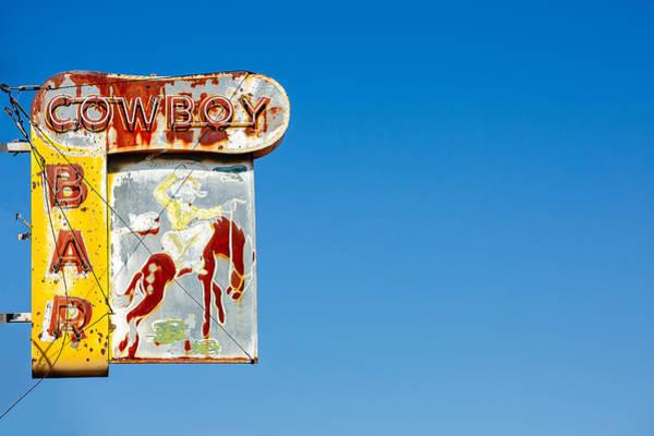 Photograph - Cowboy Bar by Todd Klassy