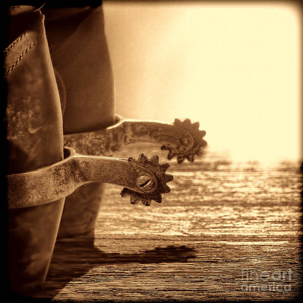 Photograph - Cowboy Boots And Riding Spurs by American West Legend By Olivier Le Queinec