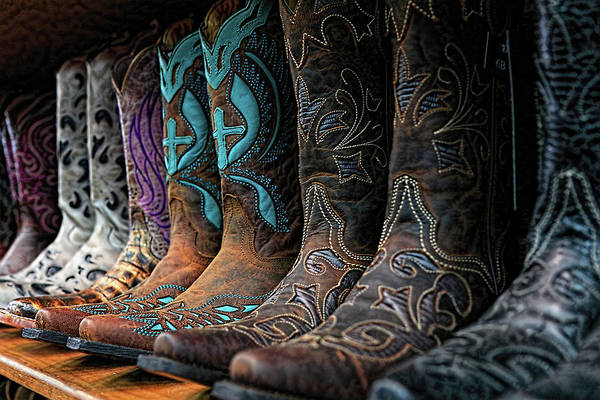 Photograph - Cowboy Boots Buy One Get Two Free by Carol Montoya