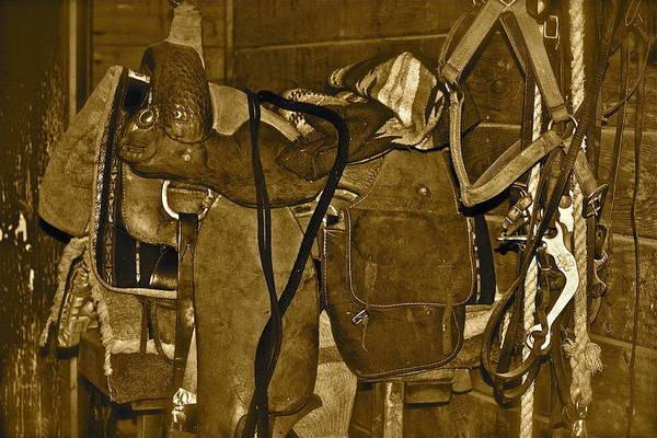 Photograph - Cowboy Gear by Diana Hatcher