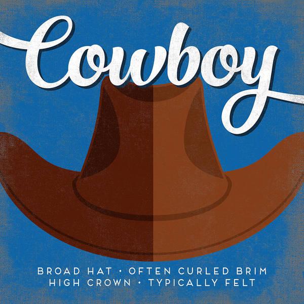 Ranch Digital Art - Cowboy Hat Defined by Flo Karp