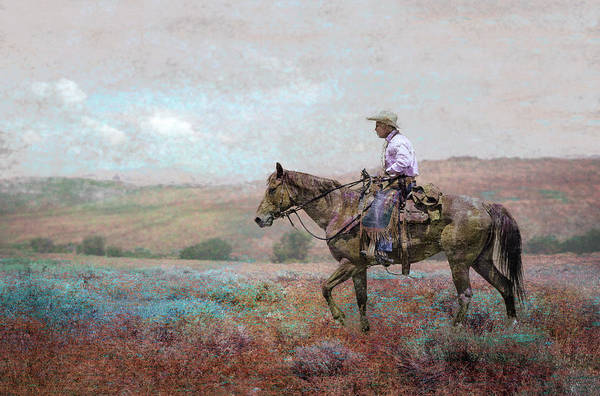 Digital Art - Cowboy by Rick Mosher