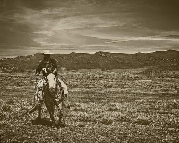 Photograph - Cowboy Ride by Amanda Smith