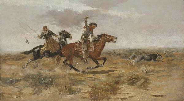 Roping Painting - Cowboy Sport by MotionAge Designs