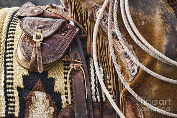 Photograph - Cowboy Tack by Crystal Nederman
