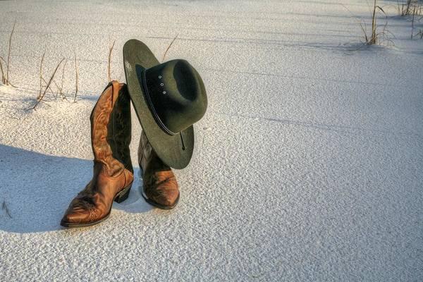 Destin Photograph - Cowboy Up In Destin by JC Findley