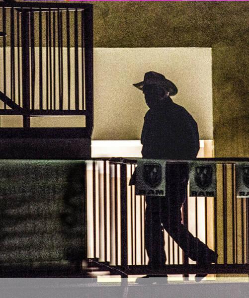Photograph - Cowboy Walking by Jeff Kurtz