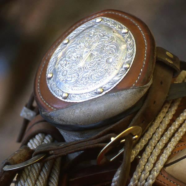 Cowboys Horn Art Print