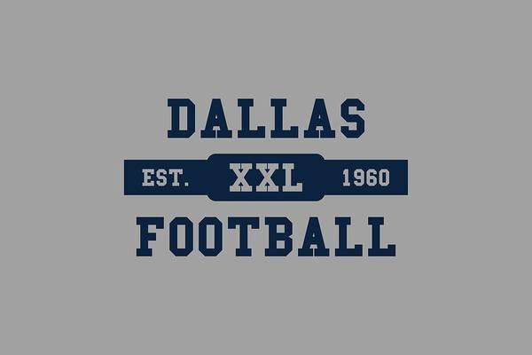 Dallas Cowboys Photograph - Cowboys Retro Shirt by Joe Hamilton