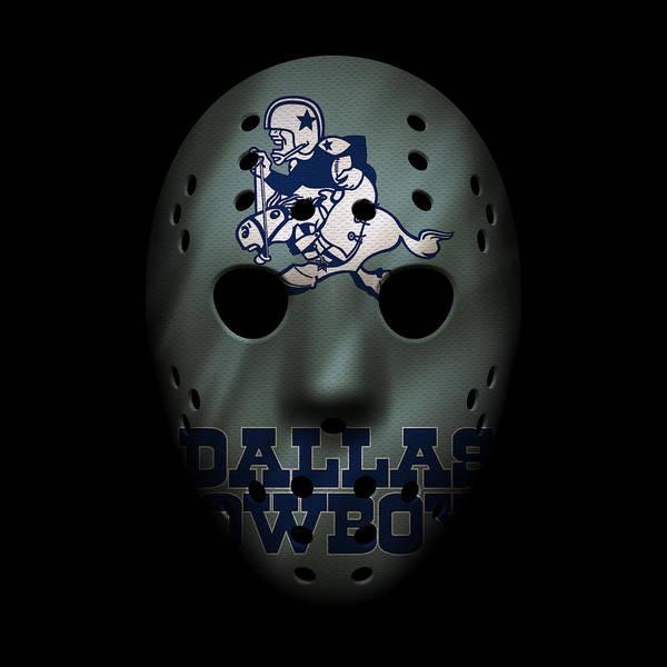Dallas Cowboys Photograph - Cowboys War Mask by Joe Hamilton
