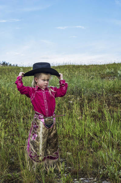 Photograph - Cowgirl Chick 2 by Pamela Steege