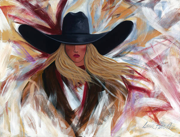 Painting - Cowgirl Colors by Lance Headlee