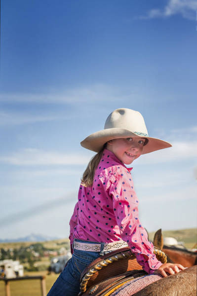 Photograph - Cowgirl Cutie by Pamela Steege