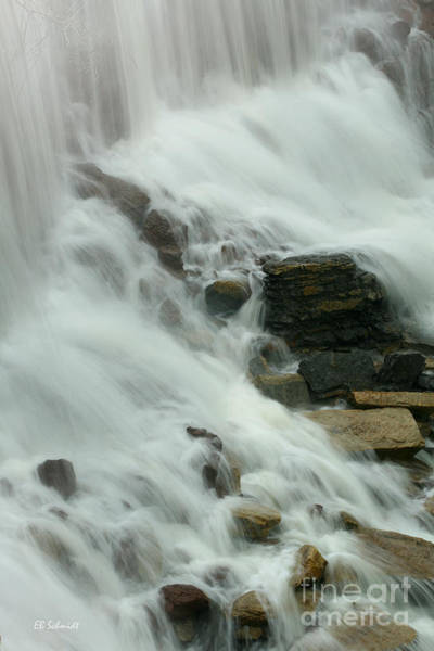 Photograph - Cowley Falls 2 by E B Schmidt