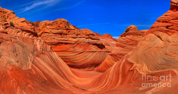 Photograph - Coyote Buttes Wave Panorama by Adam Jewell