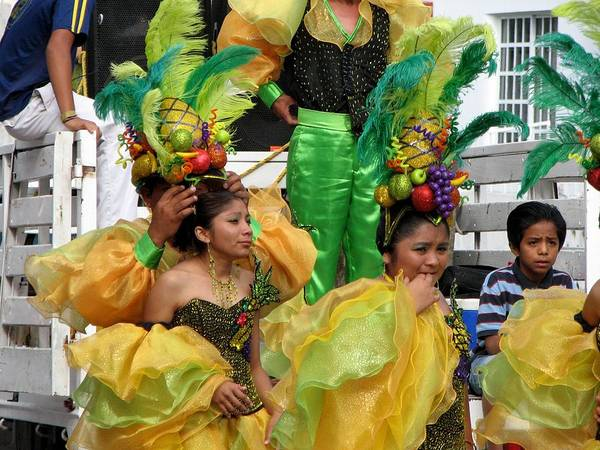 Photograph - Cozumel Carnaval 3 by Keith Stokes