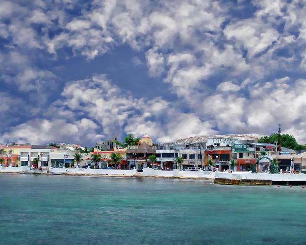 Photograph - Cozumel Coastal Scene by Anthony Dezenzio