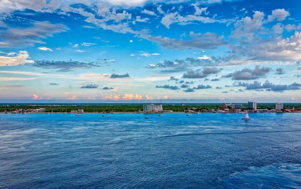 Photograph - Cozumel Vista by John M Bailey