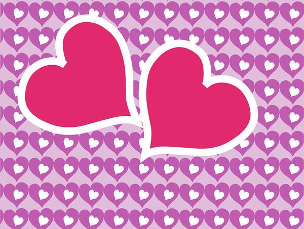 Digital Art - Cozy Valentines by Barbara Jacobs