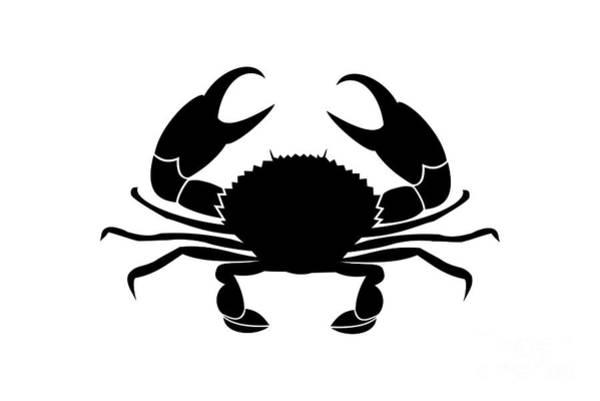 Digital Art - Crab  by Donna Mibus
