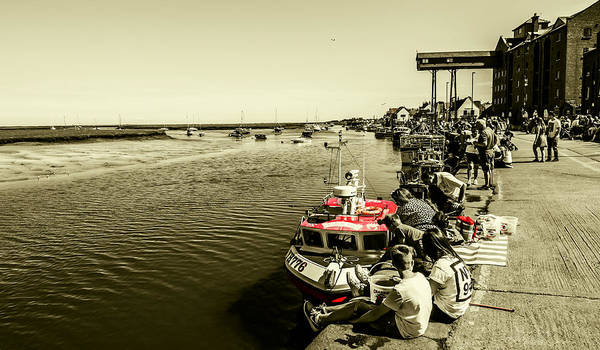 Photograph - Crabbing by Nick Bywater