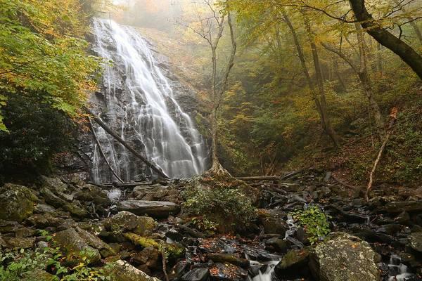Photograph - Crabtree Falls In Autumn by Carol Montoya