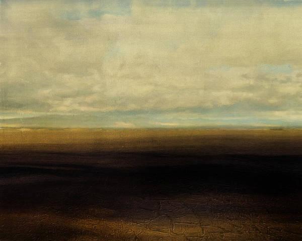 Bailey Digital Art - Cracked Desert by Lonnie Christopher