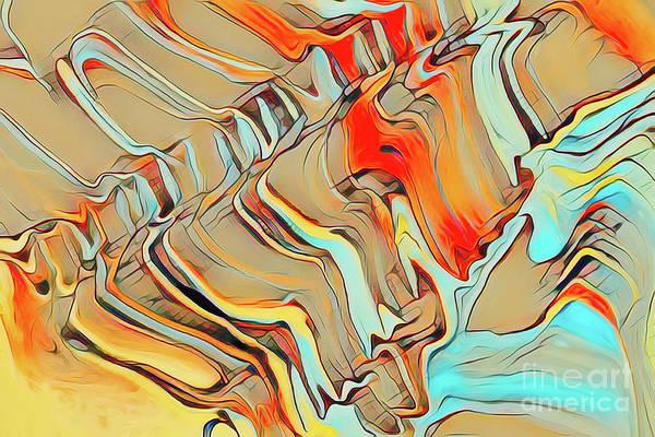 Photograph - Cracked Rocks by Patti Schulze