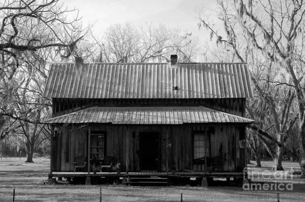 Cracker Photograph - Cracker Cabin by David Lee Thompson
