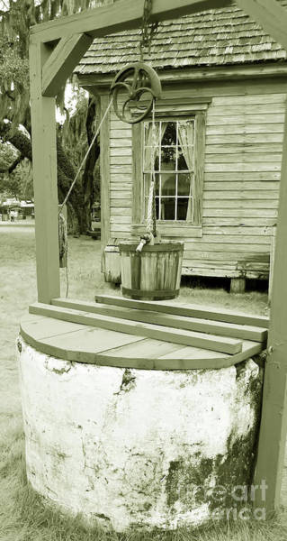 Photograph - Cracker Water Well by D Hackett