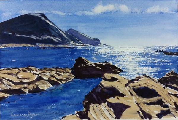 Painting - Crackington Haven Sparkle by Lawrence Dyer