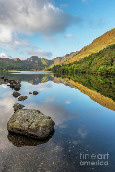 Wall Art - Photograph - Crafnant Lake Snowdonia by Adrian Evans