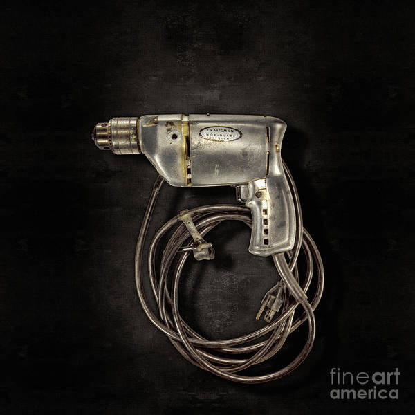 Wall Art - Photograph - Craftsman Drill Motor L by YoPedro