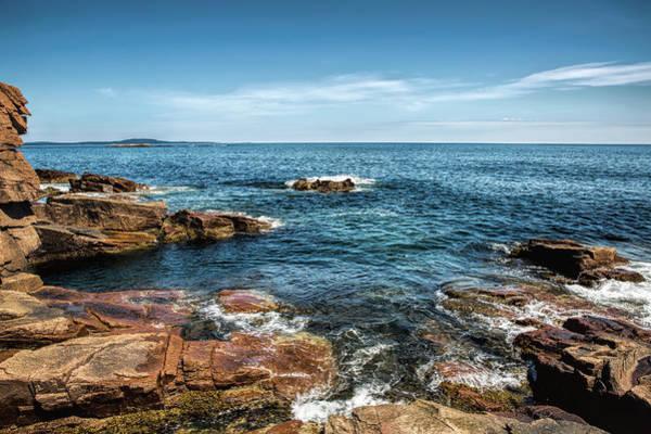 Photograph - Craggy Coast by John M Bailey