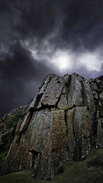 Mountain Climbing Photograph - Crags by Meirion Matthias